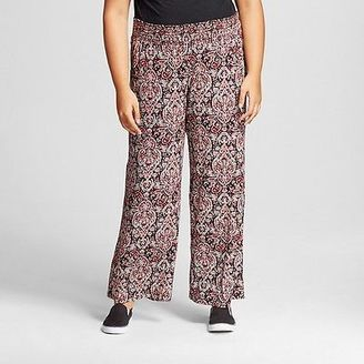 Women's Plus Size Printed Palazzo Pant - Mossimo Supply Co. (Junior's) $24.99 thestylecure.com