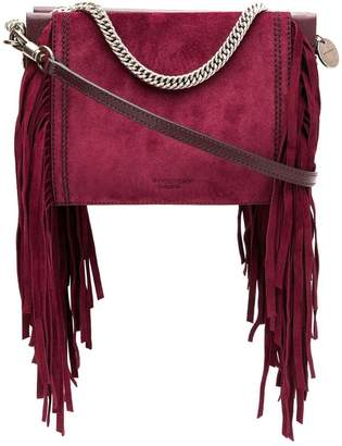 Givenchy fringe square clutch bag