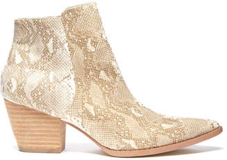 Coconuts by Matisse Astoria Snake Print Bootie