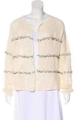 Joie Sequined Long Sleeve Cardigan