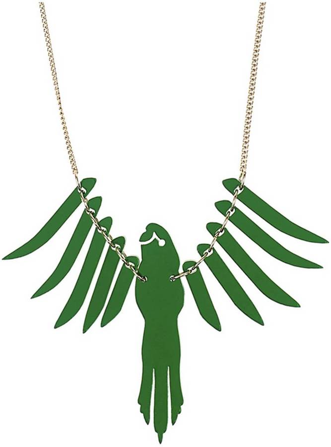 Tatty Devine Small Parrot Necklace