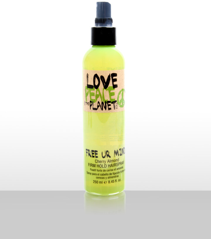 Tigi Love Peace & The Planet Free Your Mind Firm Hold Hairspray 250ml