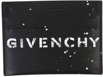Givenchy Black Branded Card Holder