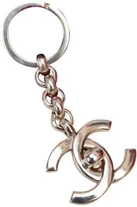 Chanel Silver Metal Bag charms