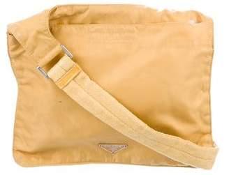 Prada Vela Nylon Crossbody Bag