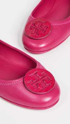 7ab707a87aa Tory Burch Minnie Travel Ballet Flats - ShopStyle