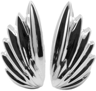 Angel Wing Silver Earrings