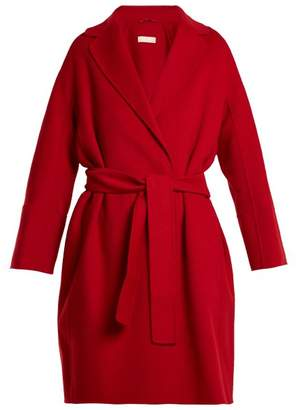 Max Mara S Arona Wool Coat - Womens - Red
