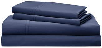 Lauren Ralph Lauren Spencer Cotton Sateen Count 4-Pc. Solid Queen Sheet Set Bedding