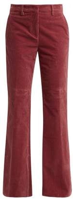 Etro Corduroy Trousers - Womens - Pink