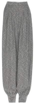 Stella McCartney Knitted wool trousers