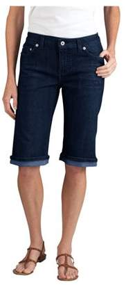 "Dickies Women's Slim Fit 13"" Stretch Denim 5-Pocket Short"