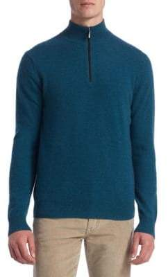 Saks Fifth Avenue COLLECTION High Neck Cashmere Sweater