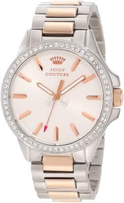 Juicy Couture Women's 1901024 Jetsetter Rose Gold Two Tone Bracelet Watch