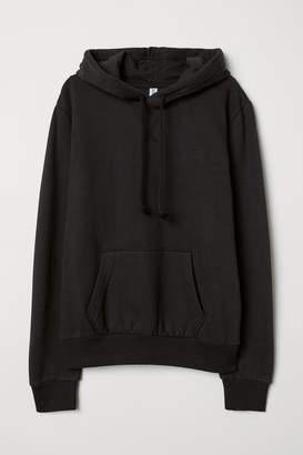 H&M Hooded Sweatshirt - Black