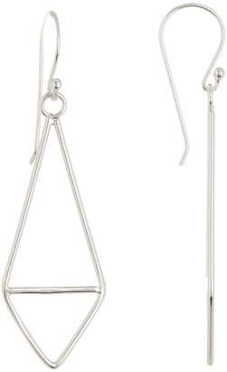 Candela Sterling Silver Fancy Kite Dangle Earrings