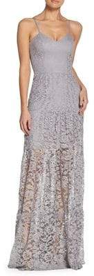 Dress the Population Lace Maxi Dress