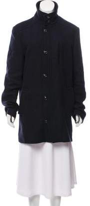 Maison Margiela Short Wool-Blend Coat