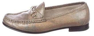 Gucci 1953 Metallic Horsebit Loafers