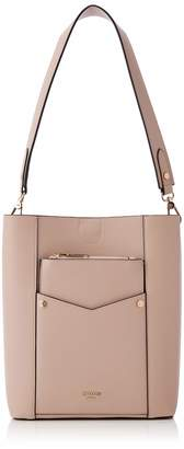 Dune Womens Duckty Shoulder Bag Pink (Blush-Synthetic)