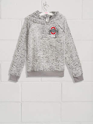 PINK The Ohio State University Sherpa Raglan Pullover