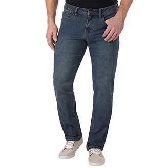 Izod Men's Comfort Stretch Straight Fit Jeans