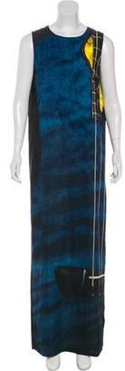Akris Punto Slit Maxi Dress