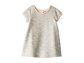 Splendid Littles Lurex Short Sleeve Dress (Big Kids)