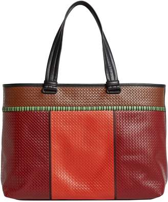 Bottega Veneta Leather Intrecciato Tote Bag