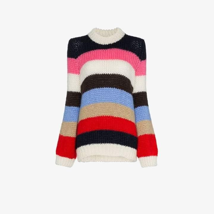 Julliard striped knitted jumper