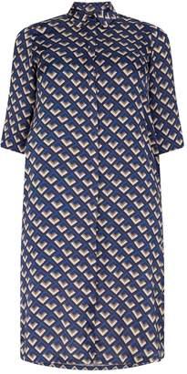 Marina Rinaldi Print Shirt Dress