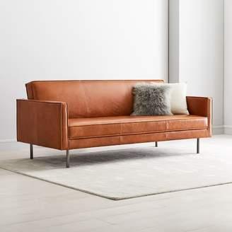"west elm Axel Full Leather Futon (82.5"")"