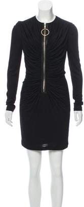 Givenchy Bodycon Zip-Up Dress