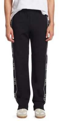 Valentino Logo Trim Track Pants