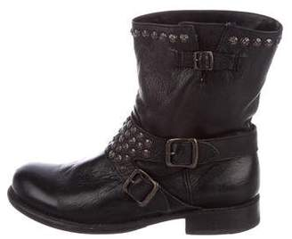 Frye Studded Ankle Boots