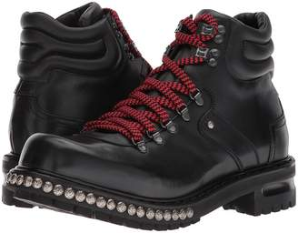 Alexander McQueen Studded Hiking Boot Men's Shoes