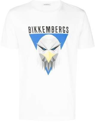 Dirk Bikkembergs eagle print T-shirt
