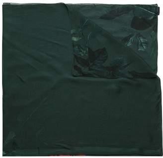 OSKLEN Rose Garden silk scarf