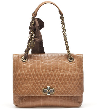 Lanvin Happy Bag In Quilted Calfskin