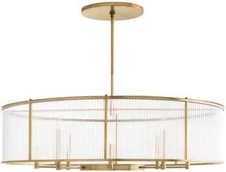Lulu & Georgia Windsor Smith Hera Oval Chandelier, Antique Brass