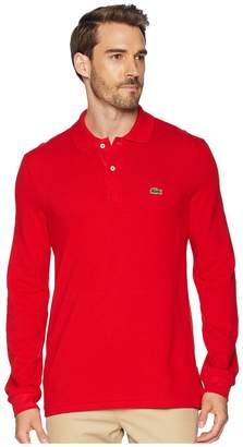 Lacoste Long Sleeve Classic Pique Polo Shirt Men's Long Sleeve Pullover