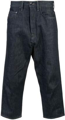 Rick Owens cropped jeans