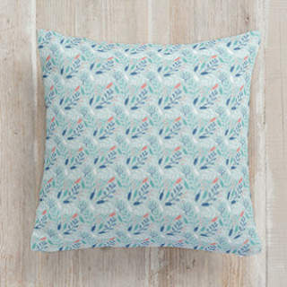 Spring Ditsy Flora Square Pillow