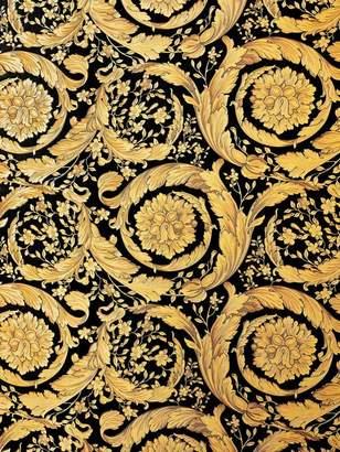 Versace (ヴェルサーチ) - Versace Barocco Flowers Wallpaper