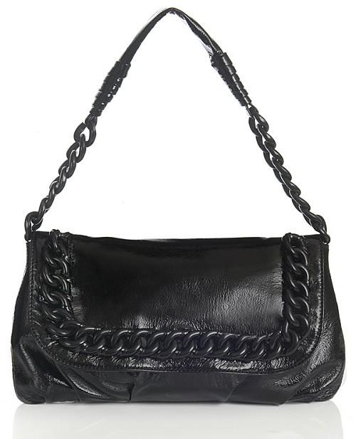Michael Kors ID Chain Shoulder Flap Bag