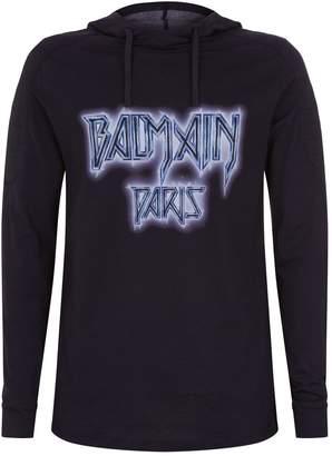 Balmain Cosmic Logo Hoodie