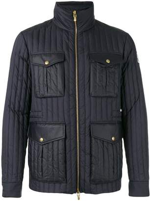 Moncler Gamme Bleu zip up padded jacket