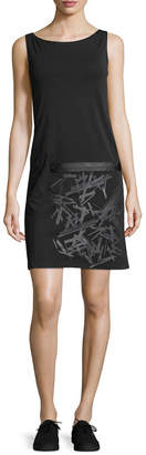 Y-3 Graphic Boatneck Dress
