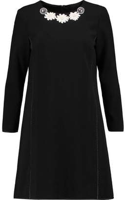 Marc by Marc Jacobs Embellished Crepe Mini Dress