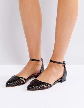 Ravel Cut Out Flat Point Shoe
